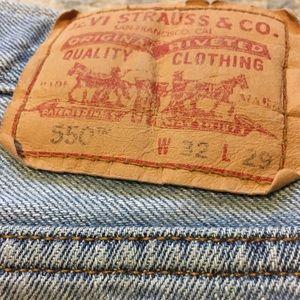 Vintage 550 Levi's